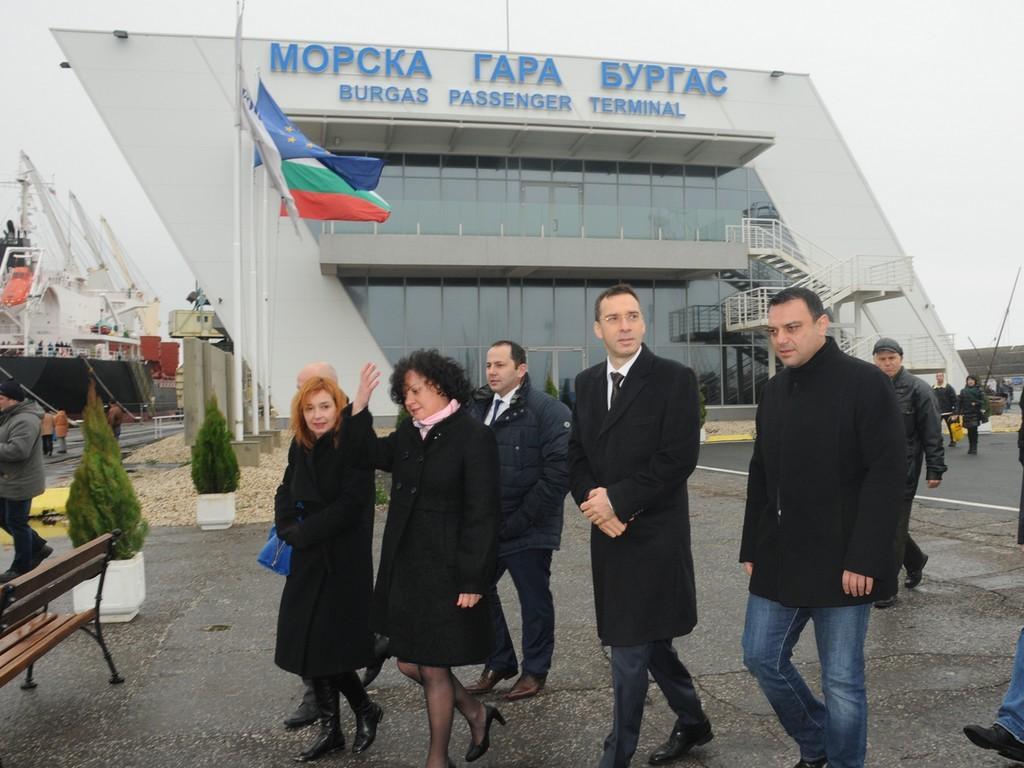 Московски морска гара